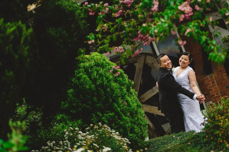 Windmill Gardens wedding